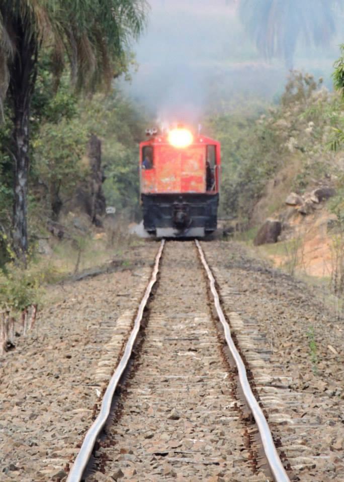 Subindo para Carlos Gomes com Locomotiva Alco