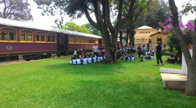 escola no trem