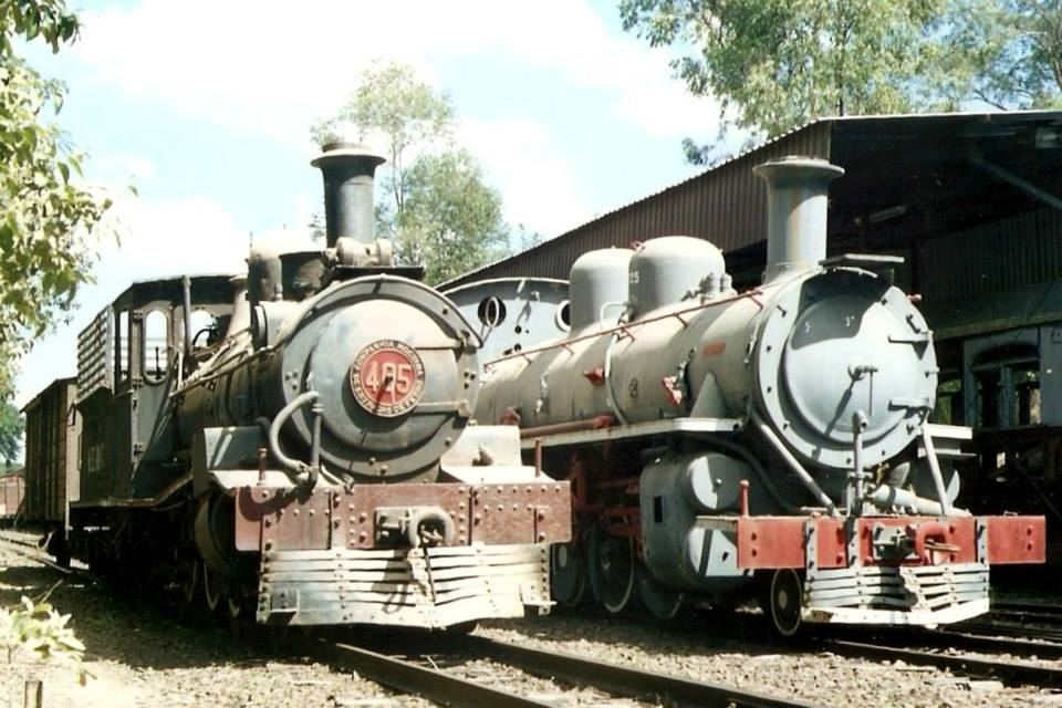 Antigas Locomotivas Mogiana