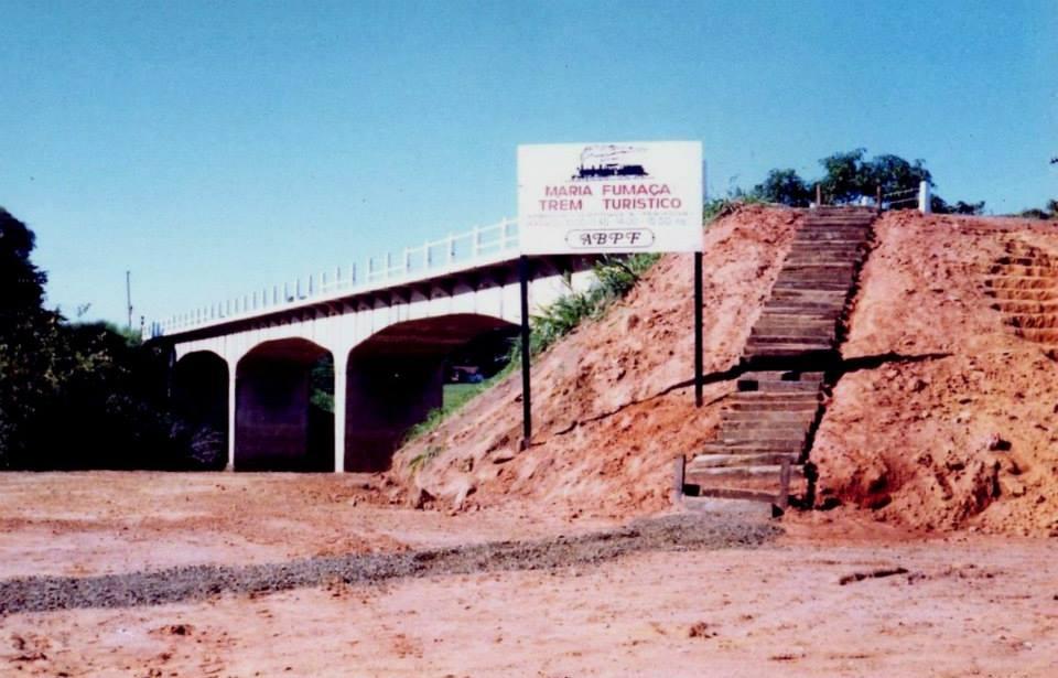 Antigo acesso a parada Jaguary