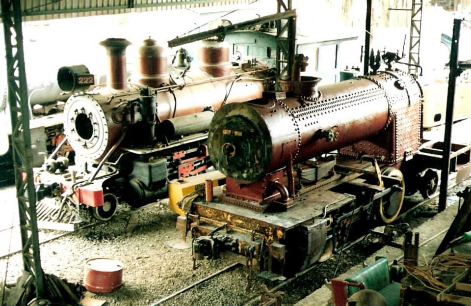 Restauração de Locomotivas