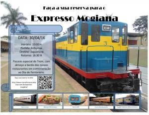 Cartaz Expresso Mogiana