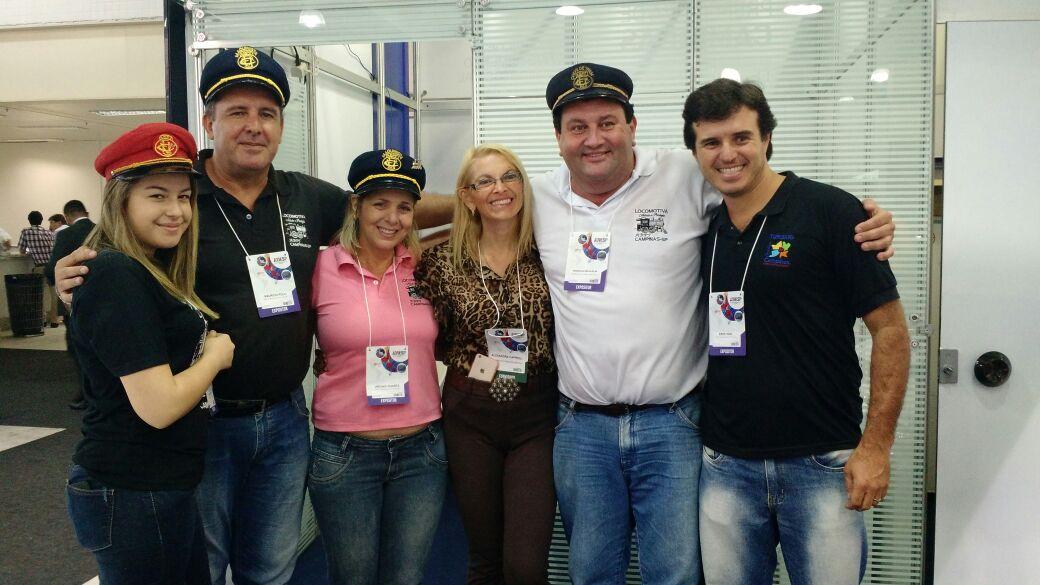 Maria Fumaça na 39a AVIESP EXPO