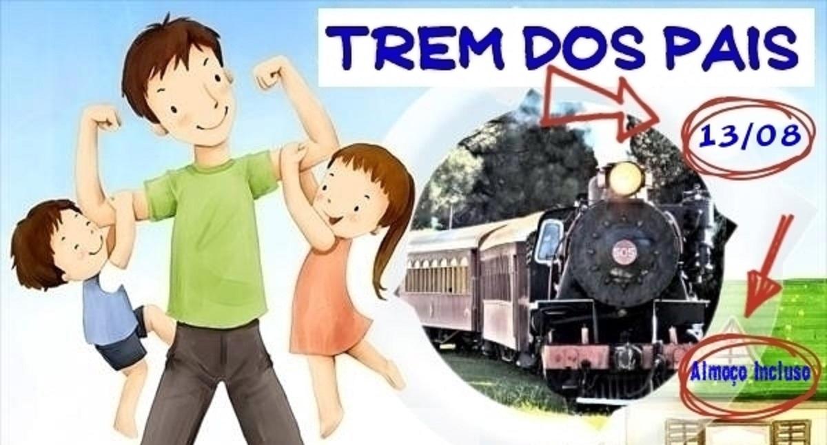 Venha para o Trem dos Pais